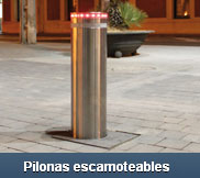pilonas escamoteables